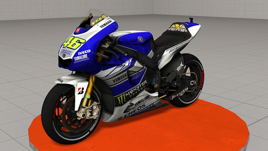 Yamaha YZR-M1 (Valentino Rossi)