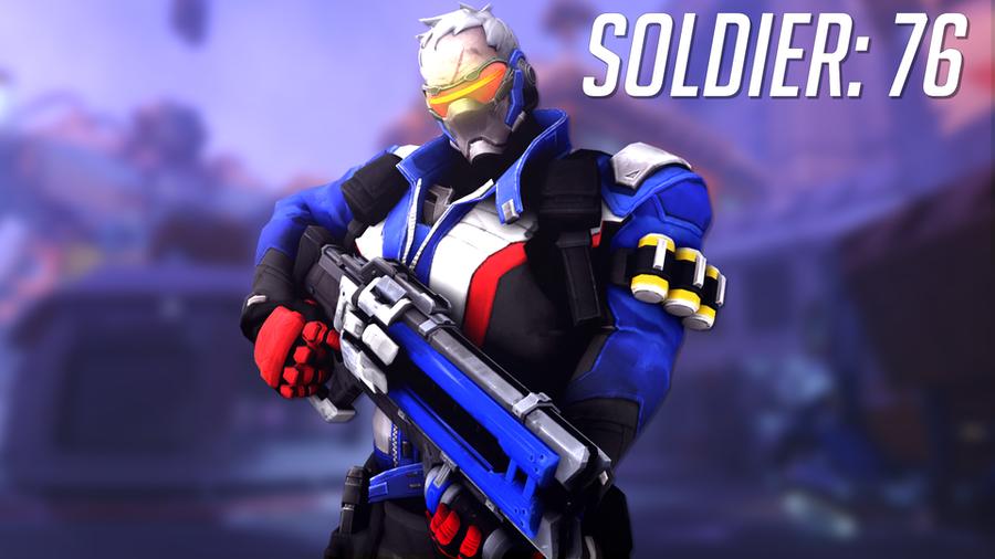 [Overwatch] Soldier: 76