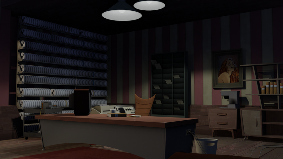 TF2-style office (sfm_corporate)