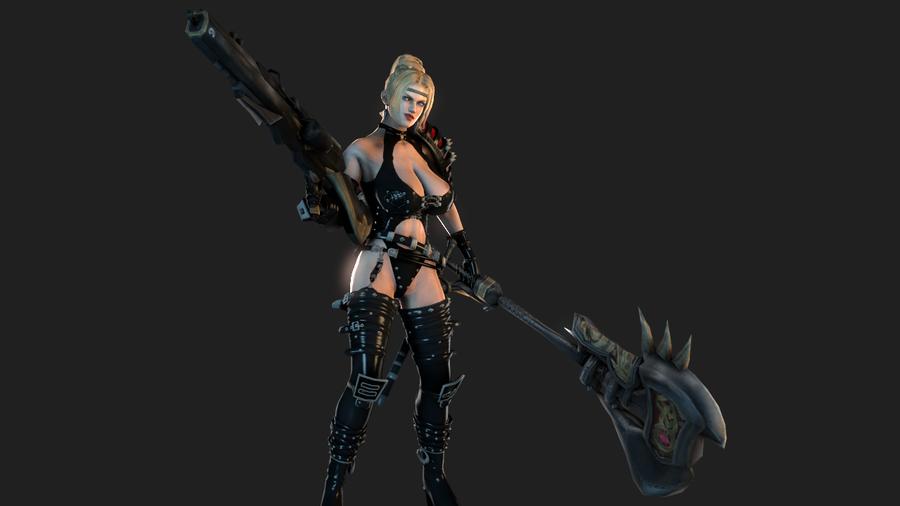 Demon Huntress Rachel [DOA Fantasy]