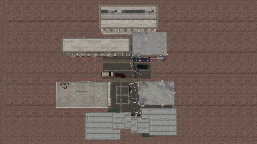 Raccoon City Alleyway Scenebuild (v.01)