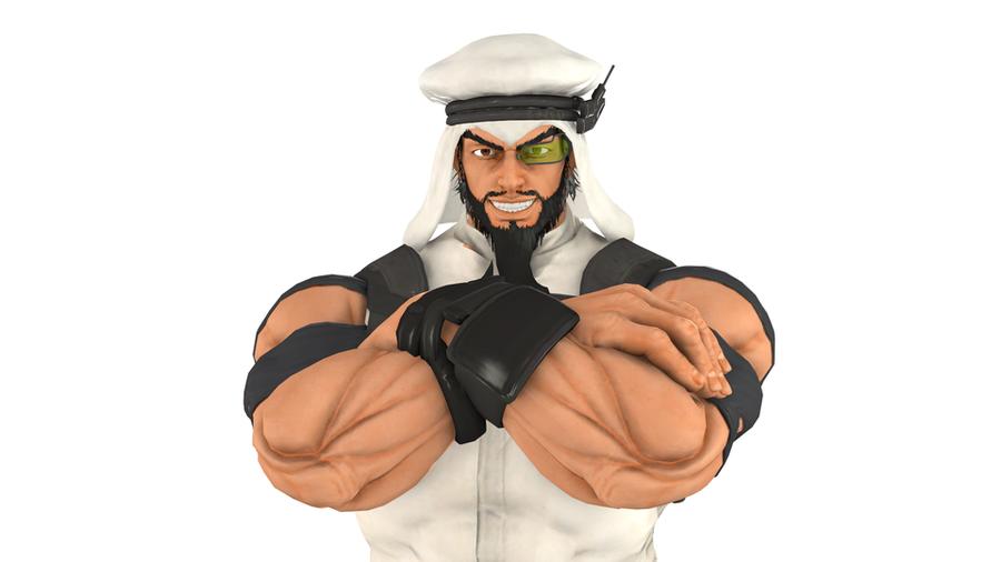 Street Fighter - Rashid