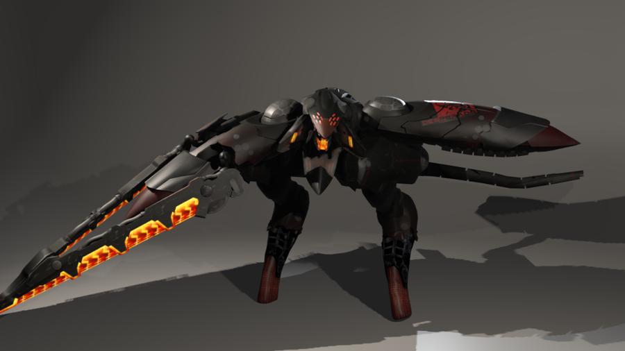 Metal-Gear Rising: Desperado RAY