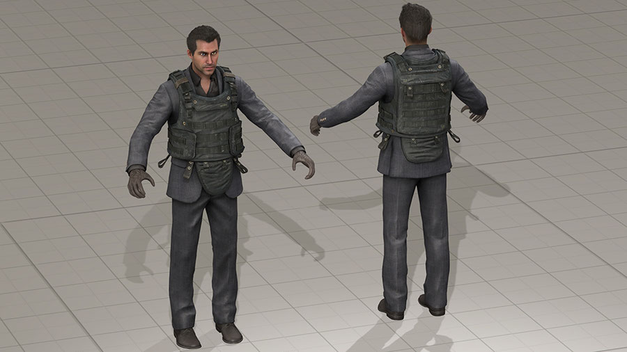 Vladimir Makarov from Call of Duty: Ghosts DLC Legend Pack