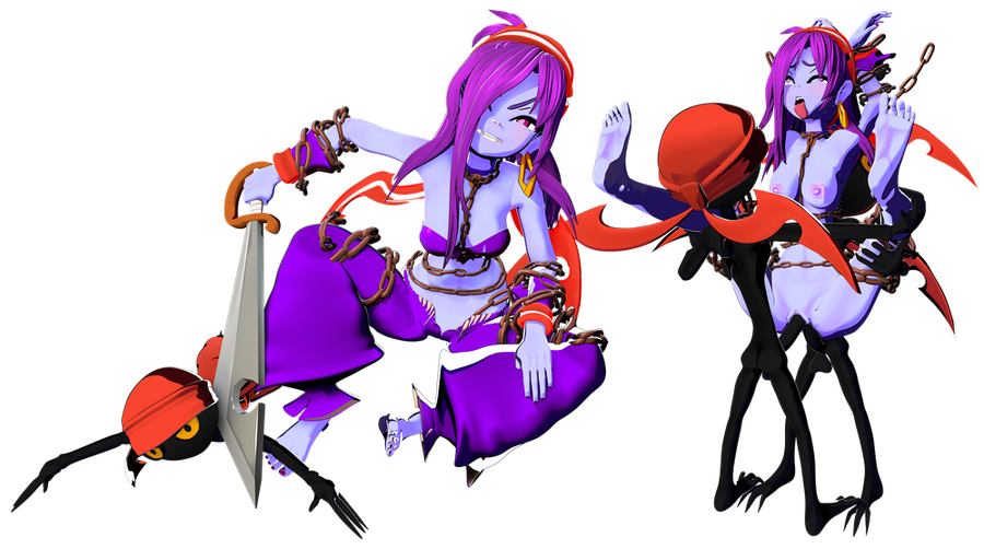 Risky Boots - Shantae and the Seven Sirens Op version