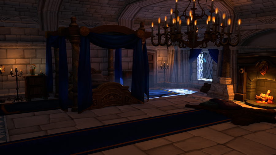 [Warcraft][C4D] The King's Chambers