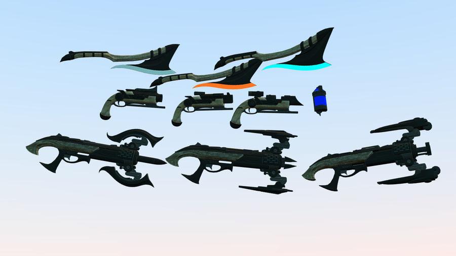 Alien Hunters DLC Weapons (XCOM 2)