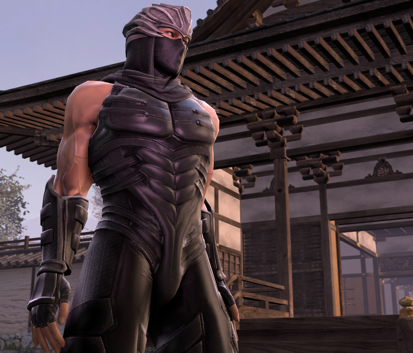 Gnin & Plasmid's Naughty Ryu Hayabusa
