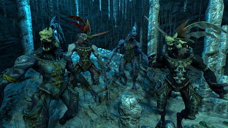 Sahagin Beastmen (FFXIV)