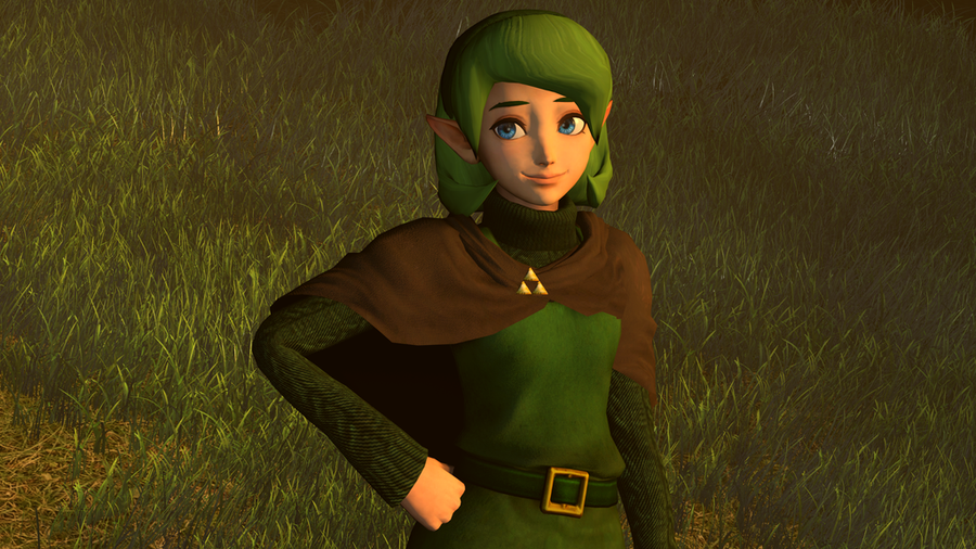 Adult Saria by MoogleOutFitters