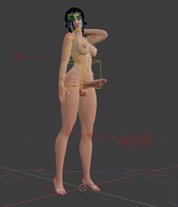 Lara Croft Futa