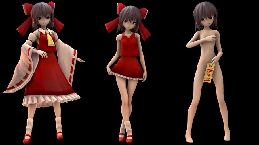 Reimu Hakurei V2 - Touhou Project