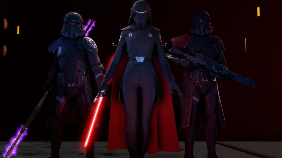 Star Wars Jedi: Fallen Order Models