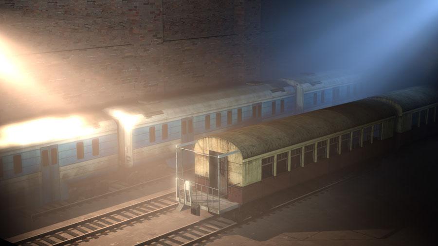 Pre-war Passenger Train Cars