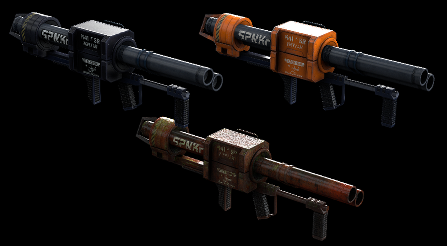 UNSC Weapon Skins - Halo 3
