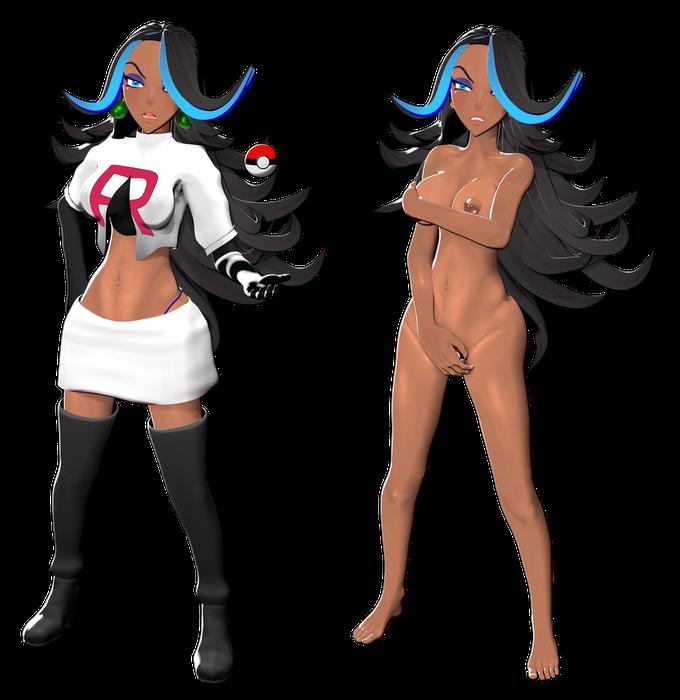 Shelly - Team Aqua - Pokemon Alpha Sapphire