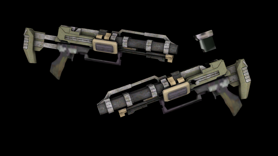 Dead Space 3 - Unitologist Weaponry
