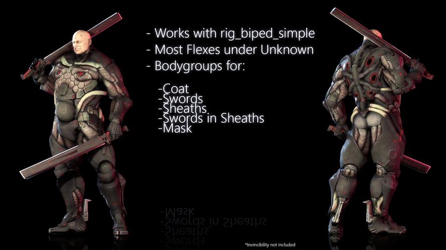 Metal Gear Rising: Revengeance - Sundowner