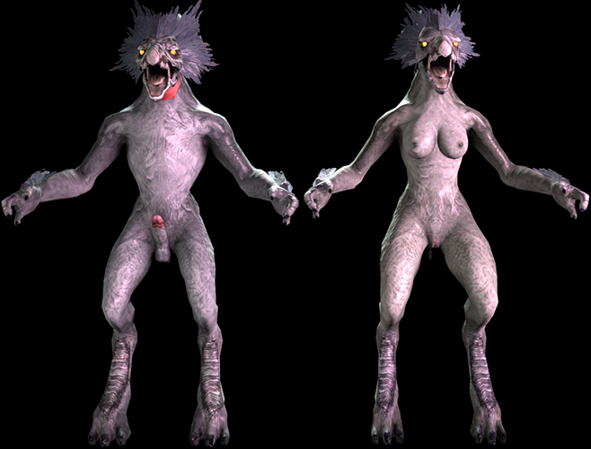 Halo: Reach - Nude Skirmisher