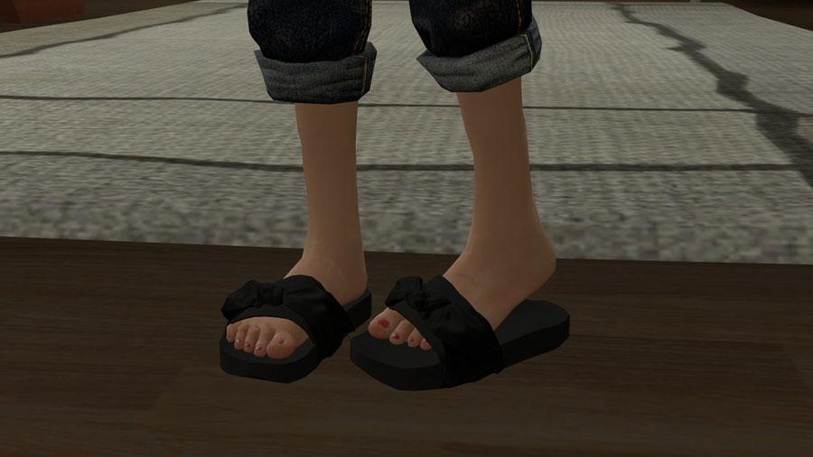 Fenty Bow Slides