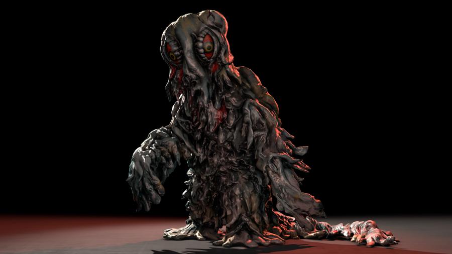 PS3/4: Hedorah the Smog Monster