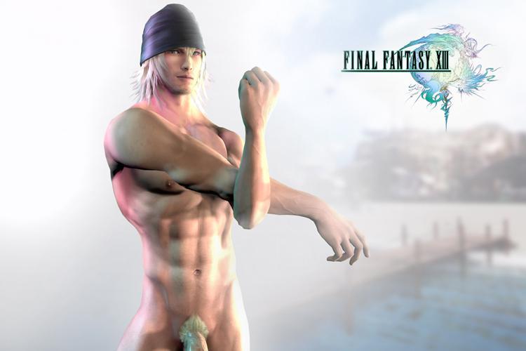 Final Fantasy 13 - Nude Snow Villiers