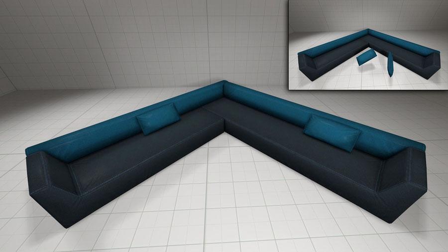 GTA V apartament sofas pack