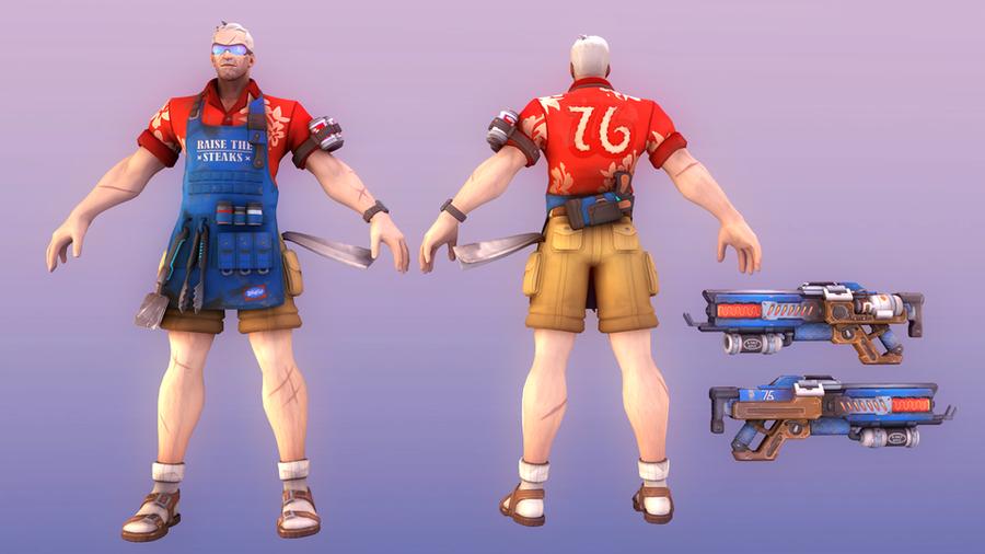 Grillmaster 76 [Overwatch]