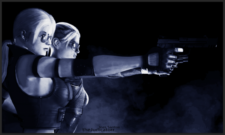 Cassie Cage and Sonya Blade Audio MKX