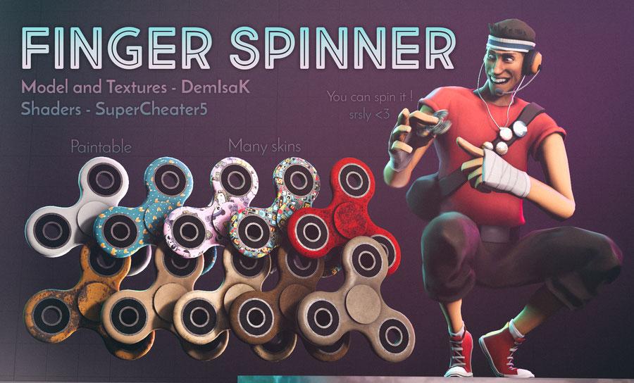 HD Finger Spinner