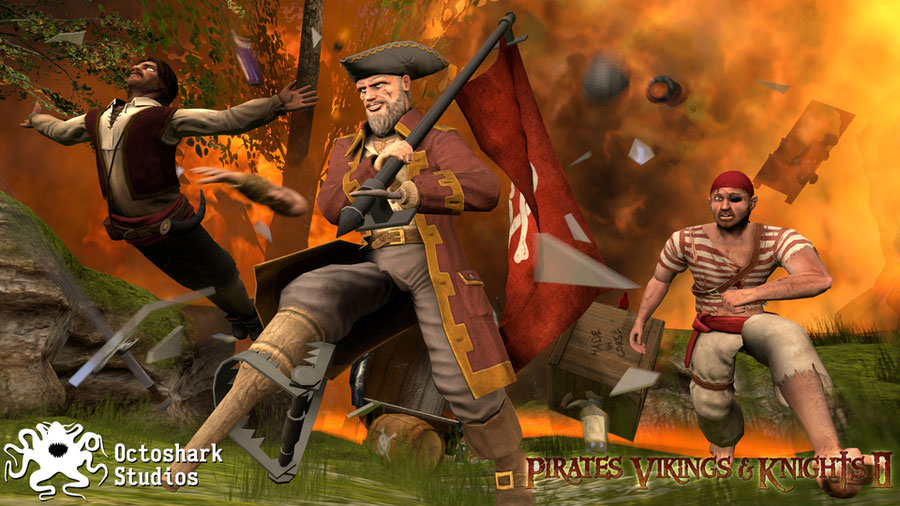 Vikings pirates and knights 2 content
