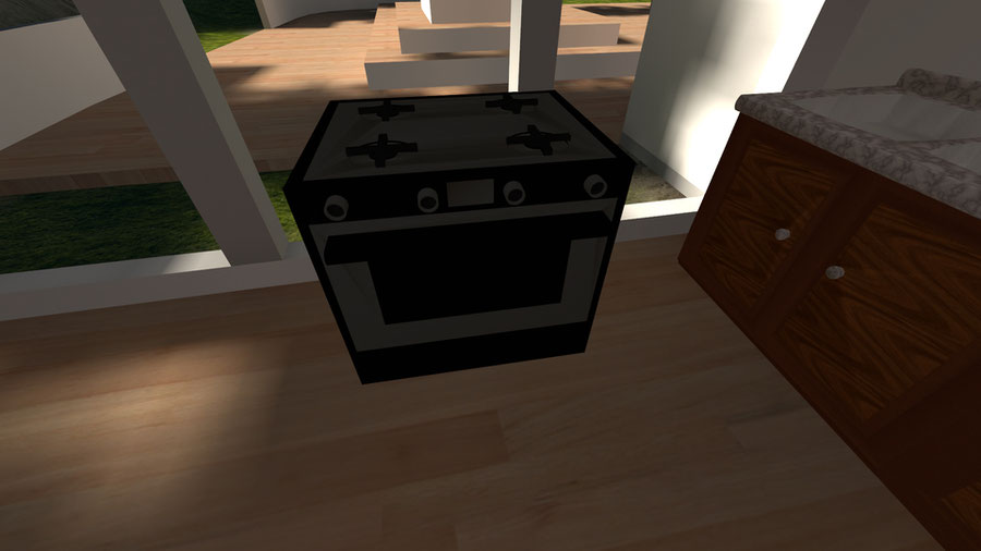 A Kitchen Model Set
