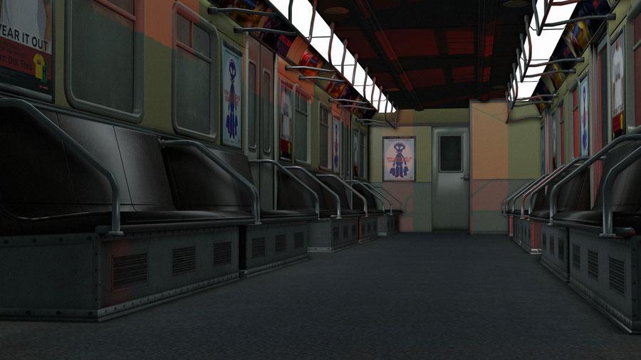 Resident Evil 3 Remake Subway Cars
