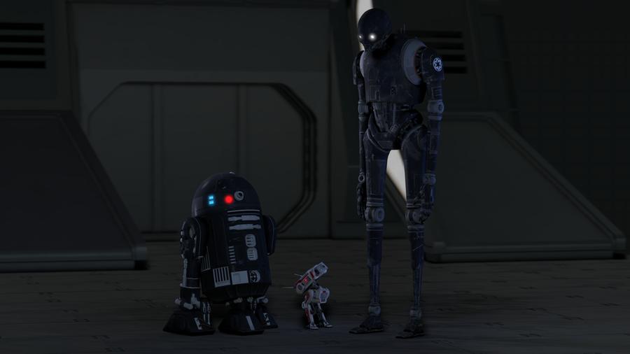 Star Wars Jedi: Fallen Order Droid Models