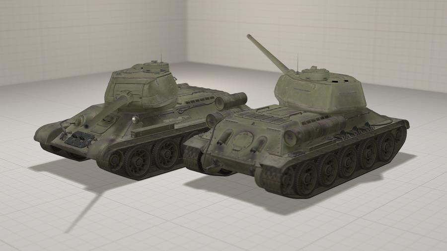 T-34-85 (World of Tanks)