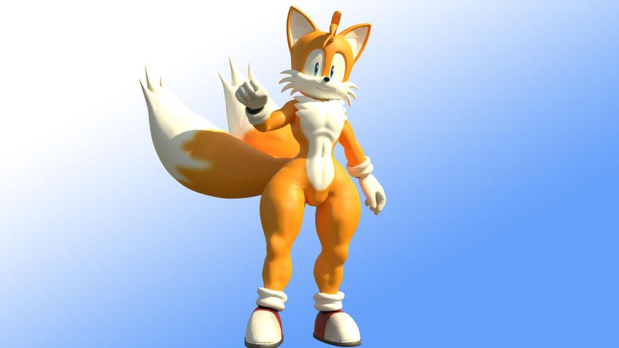 "Miles ""Tails"" Prower [V1 & V2 Revisions]"
