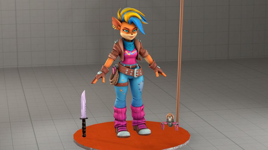 Tawna (Crash Bandicoot 4)