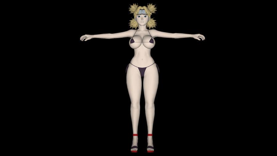 Swimsuit Temari Nara - Naruto