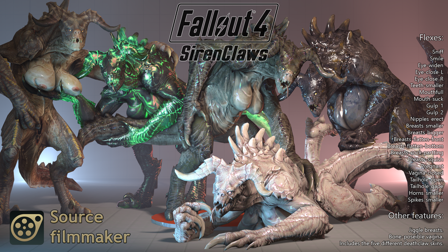 Fallout 4 - Sirenclaw