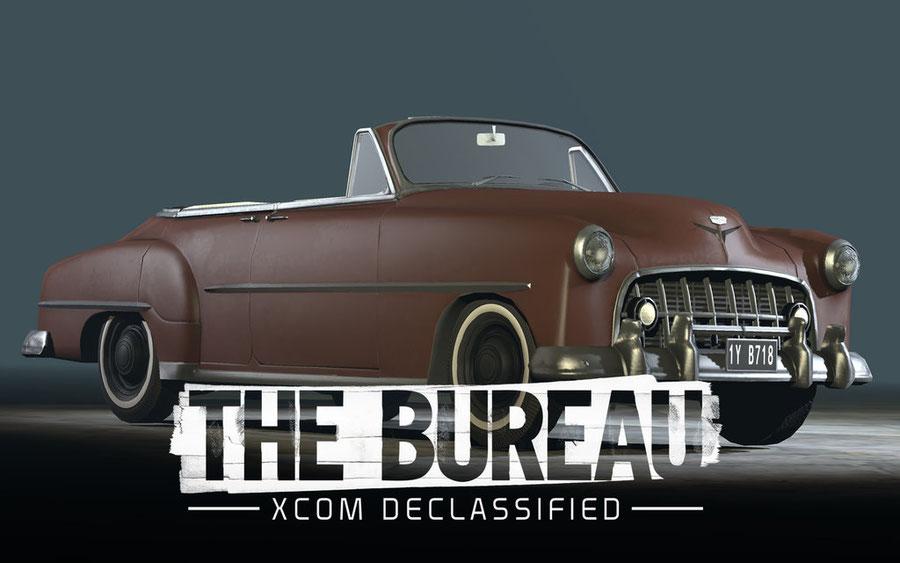 The Bureau: XCOM Declassified Cinematic Car