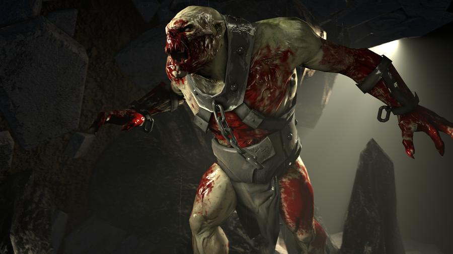Yeti Thrall (Tomb Raider : Underworld)