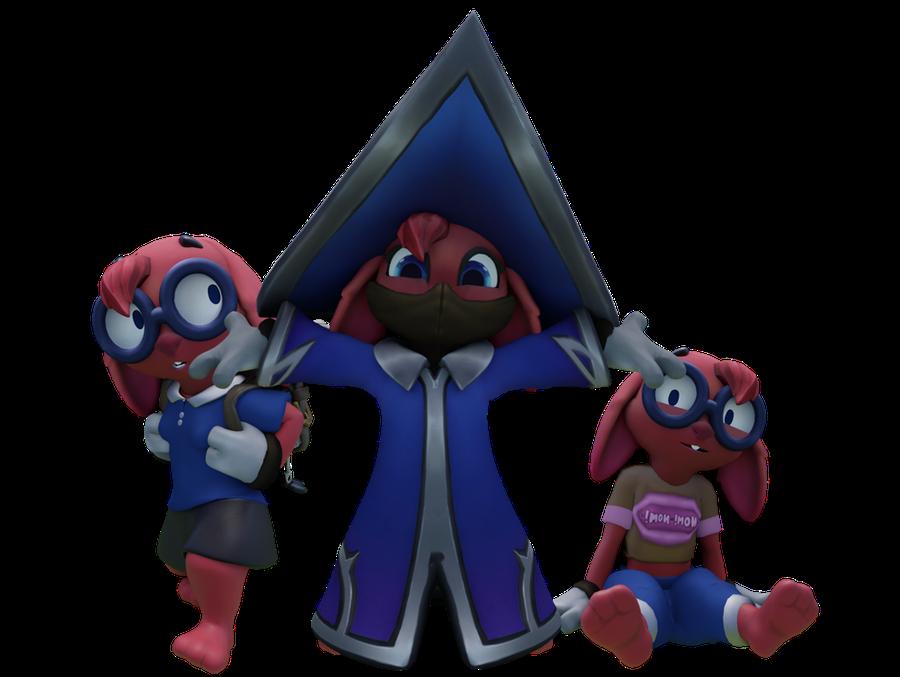 Moji and Po-Li (Paladins: Champions of The Realm)