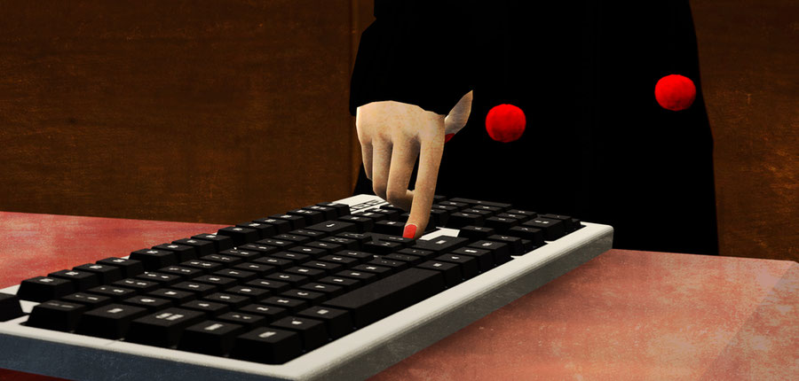 Interview Selfie Keyboard