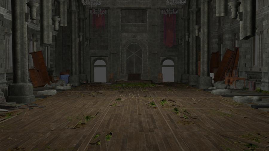 Church Interior Final Fantasy 7 Remake