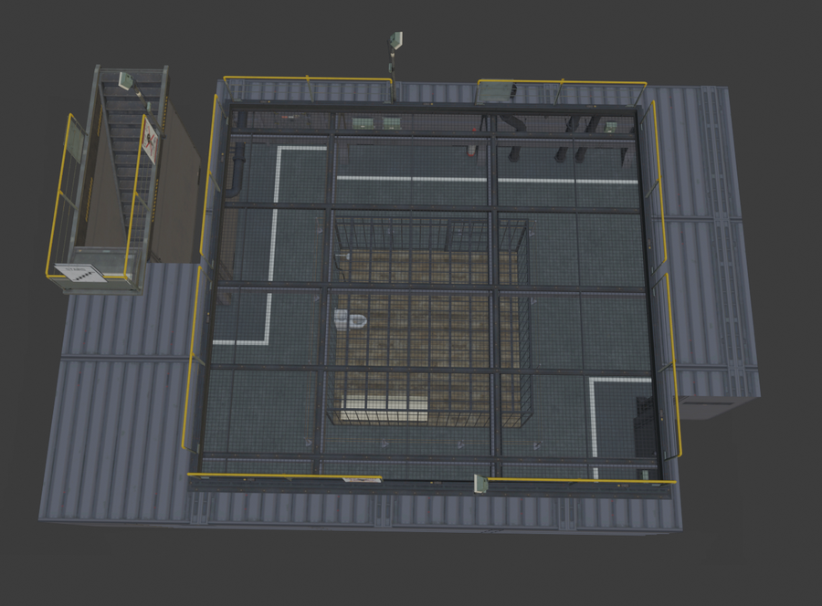 MGSV - Quiet's Cell