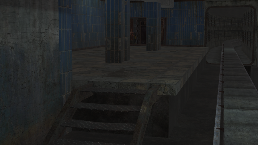 Metro 2033- Prologue map Underground section