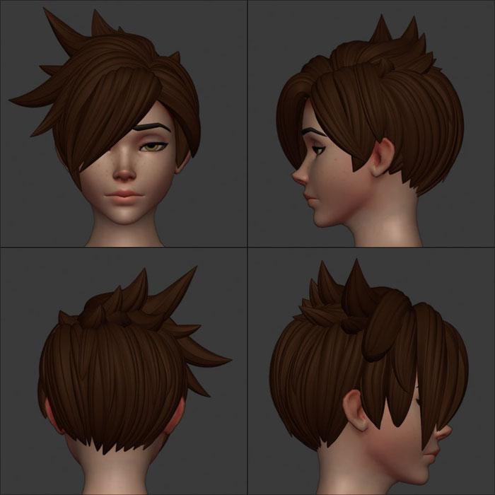 Tracer Hair Curves