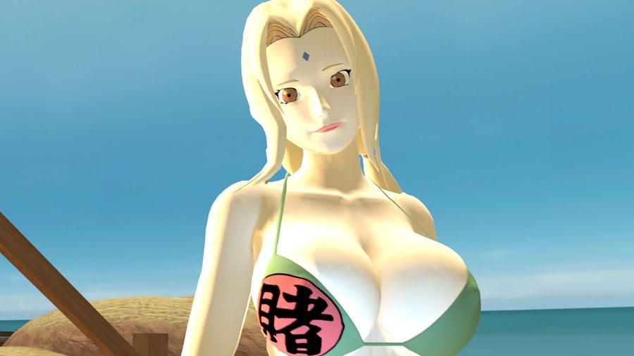 Swimsuit Tsunade - Naruto