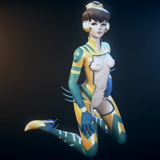 [Overwatch] Bva - Blender / FBX