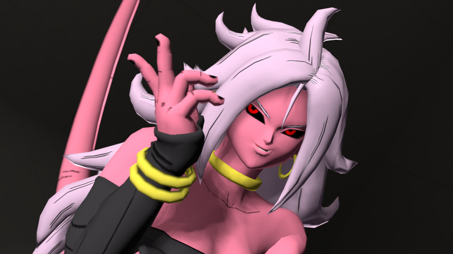 Nude Android 21 (Commissioned by RedMoa)